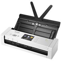 Brother ADS-1700W A4 Sheetfed Scanner Netwerkcompatibel 600 x 600 dpi WiFi-verbinding Zwart, Wit