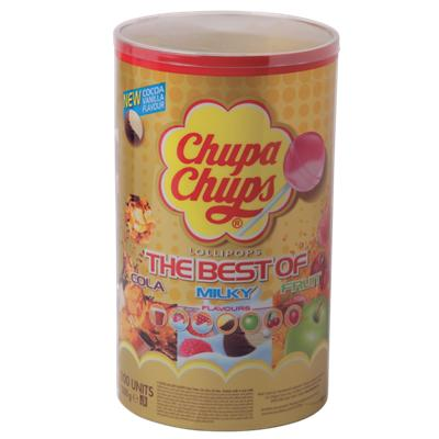 Chupa Chups Lollies The best of 100 Stuks à 12 g
