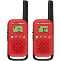 Motorola Talkabout T42 Walkie Talkie rood