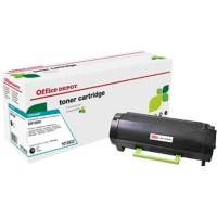 Originele Office Depot Lexmark 502 Tonercartridge Zwart