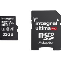 Intergral Micro SDHC Geheugenkaart UltimaPRO V30 32 GB