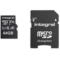 Integral Micro SDXC Geheugenkaart V10 64 GB