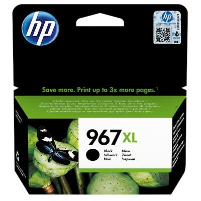 HP 967XL Origineel Inktcartridge 3JA31AE