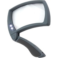 Carson Hand Vergrootglas MJ-50 Lighted MagniFold Zwart & Grijs 127 mm