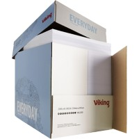 Viking Everyday print-/ kopieerpapier A4 80 gram Wit Quickbox Doos van 2500 vellen