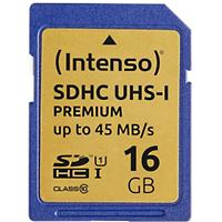 Intenso SDHC Geheugenkaart UHS-I Premium 16 GB