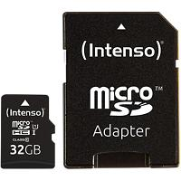 Intenso Micro SDHC Geheugenkaart UHS-I Premium 32 GB