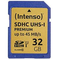 Intenso SDHC Geheugenkaart UHS-I Premium 32 GB