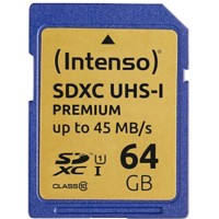 Intenso SDHC Geheugenkaart UHS-I Premium 64 GB