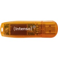 Intenso USB Flash Drive Rainbow Line Oranje