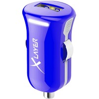XLayer USB-oplader voor in de auto Colour Line