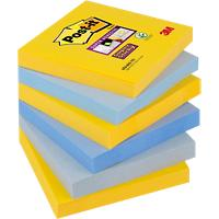 Post-it Super Sticky Notes 76 x 76 mm New York collectie 6 Stuks à 90 Vellen