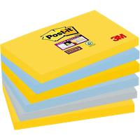 Post-it Super Sticky Notes 127 x 76 mm New York collectie 6 Stuks à 90 Vellen