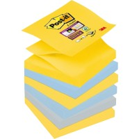 Post-it Super Sticky Z-Notes 76 x 76 mm New York Kleuren 6 Blokken van 90 Vellen