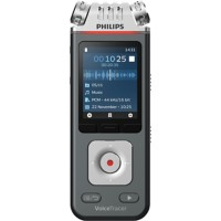 Philips digitale audiorecorder VoiceTracer DVT7110 antraciet, chroom