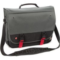 Falcon Laptoptas is0501 15,6-inch Polyester Zwart, rood, 39 x 10 x 32 cm