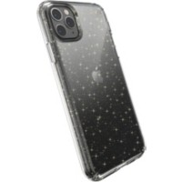 Speck Hardcase voor mobiele telefoon Apple iPhone 11 Pro Max Goud Glitter, Transparant
