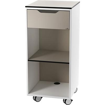 DURABLE Multifunctionele Trolley Basis Lichtbruin 450 x 450 x 1.000 mm