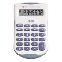 Texas Instruments Zak rekenmachine TI-501 55 mm Blauw, wit