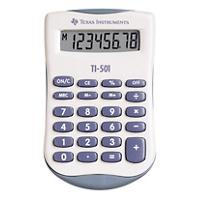 Texas Instruments Zak rekenmachine TI-501 55 mm Blauw, wit 90 x 55 x 10 mm