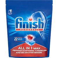 Finish Vaatwastabletten All-in-One Max 22 Stuks à 16 g