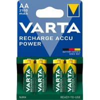 VARTA AA Batterijen RECHARGE ACCU Power HR6 4 Stuks