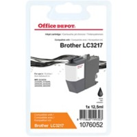 Office Depot Compatibel Brother LC-3217BK Inktcartridge Zwart