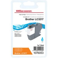 Office Depot Compatibel Brother LC-3217C Inktcartridge Cyaan