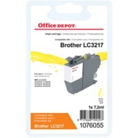 Office Depot Compatibel Brother LC-3217Y Inktcartridge Geel