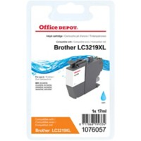 Office Depot Compatibel Brother LC3219XLC Inktcartridge Cyaan