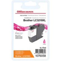 Office Depot Compatibel Brother LC3219XLM Inktcartridge Magenta