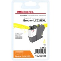 Office Depot Compatibel Brother LC3219XLY Inktcartridge Geel
