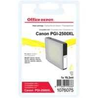 Office Depot Compatibel Canon PGI-2500 Inktcartridge Geel