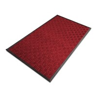 PROFESSIONAL LINE Droogloopmat Ocean Rubber, PP Rood 1800 x 1200 mm