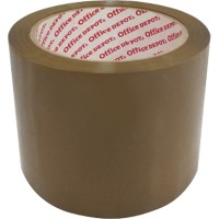 Office Depot Low Noise Tape 75 mm x 66 m. 50 micron PP Bruin