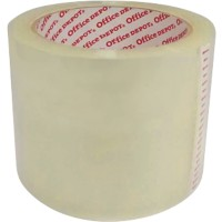 Office Depot Low Noise Tape 75 mm x 66 m 50 micron PP Transparant