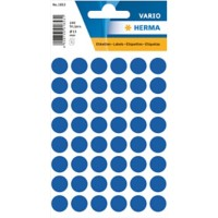 HERMA Multi-purpose labels ø 12mm dark blue 240 pcs. Gekleurde stippen Donker blauw 13 x 13 mm 10 Pakken à 2400 Etiketten