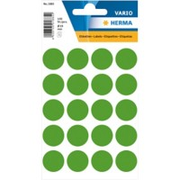 HERMA Multi-purpose labels ø 19mm dark green 100 pcs. Gekleurde stippen Donker groen 19 x 19 mm 10 Pakken à 1000 Etiketten