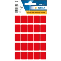 HERMA Multi-purpose labels 15x20mm red 125 pcs Multifunctionele etiketten Rood 15 x 20 mm 10 Pakken à 1250 Etiketten