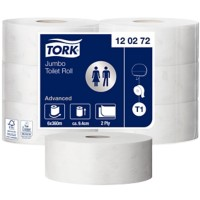 Tork Toiletpapier T1 Advanced 2-laags 6 Rollen van 1800 vellen