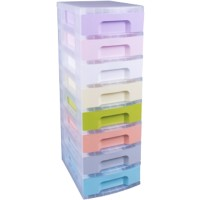 Really Useful Box Ladekastje 8 x 7 L Pastel Kunststof 42 x 30 x 92,5 cm