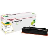 Compatibel Office Depot HP 203X Tonercartridge CF532A Geel