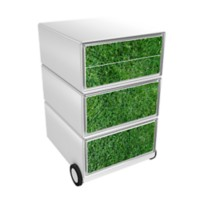 Paperflow Easybox Mobiel ladeblok met 4 lades 642x390x436 mm Golf Design
