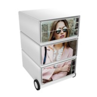 Paperflow Easybox Mobiel ladeblok met 4 lades 642x390x436 mm Miss design