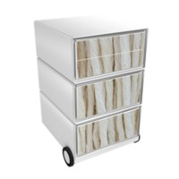 Paperflow Easybox Mobiel ladeblok met 4 lades 642x390x436 mm Cords Design