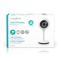 Nedis SmartLife Wi-Fi-camera Binnengebruik HD 720p Cloud / MicroSD Wit