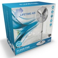 LIFETIME AIR Statiefventilator 120 cm Chrome