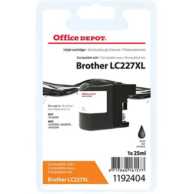 Office Depot Compatibel Brother LC227XL Inktcartridge Zwart