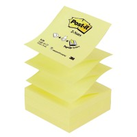Post-it Z-notes 76 x 76 mm Geel 12 Stuks à 100 Vellen
