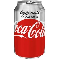 Coca-Cola Light Blik 24 Stuks à 330 ml